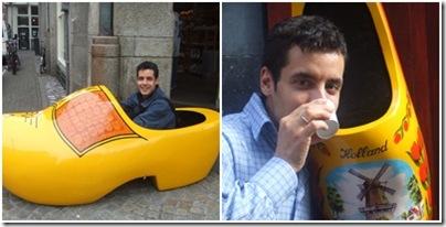Babbogiramondo beve un caffè ad amsterdam
