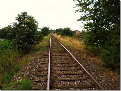binario della vecchia ferrovia di rinteln