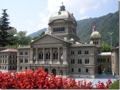 palazzo federale di Berna allo swissminiatuir