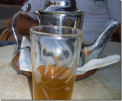 Il rito del Tè alla mente a Marrakech
