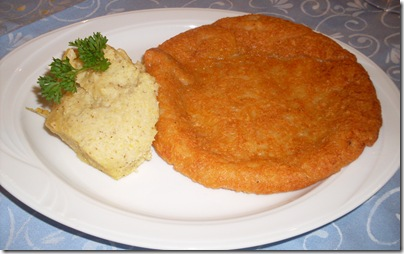 Frico e polenta