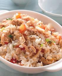喜生米漢堡分享-米食料理-蕃茄鮪魚飯