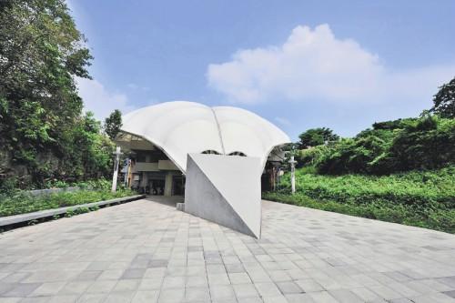 台北花博-圓山公園區的真相館-喜生米漢堡分享