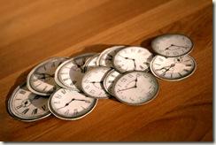 zegary wyciete