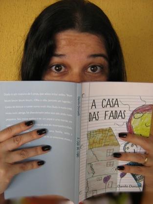 livro A Casa das Fadas