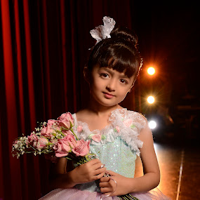 * by Michael Giardina - Babies & Children Child Portraits ( lights, ballet, stage, dancer )