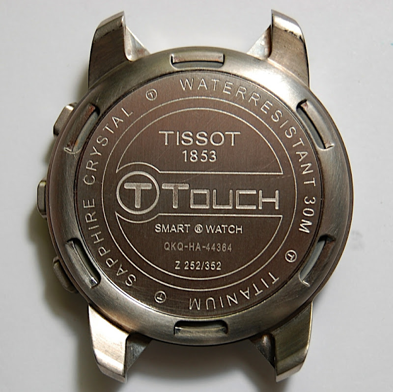 tissot t touch disassembly photos and instructions rh forums watchuseek com Tissot Touch Expert tissot 1853 t race touch manual