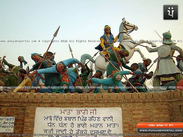 Mata Bhago Ji from Jhabal in War