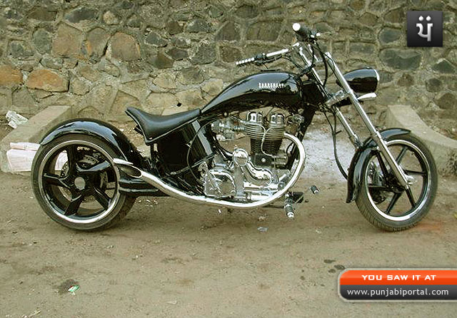 ... Custom Royal Enfield Motorcycles Bullet 350 modified Bullets in India