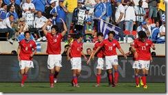 South Korea celebrates
