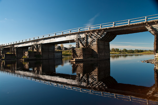 Архангело, Марковское и мост в Першлахте