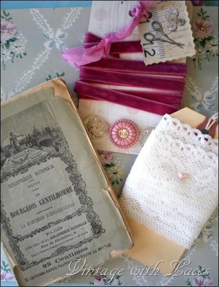 book and ribbon