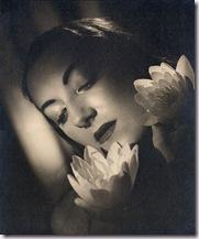 Retrato de la bailarina Marika Rivera 1946-Angus McBean