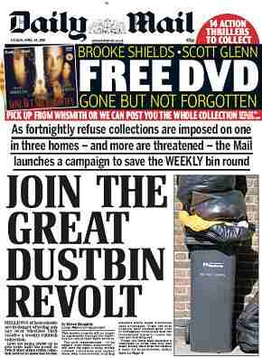 Daily Mail finally loses any sense of proportion