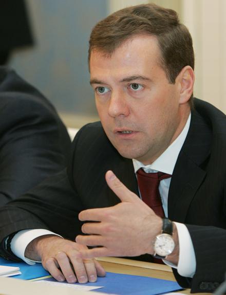 D. Medvedevo laikrodis