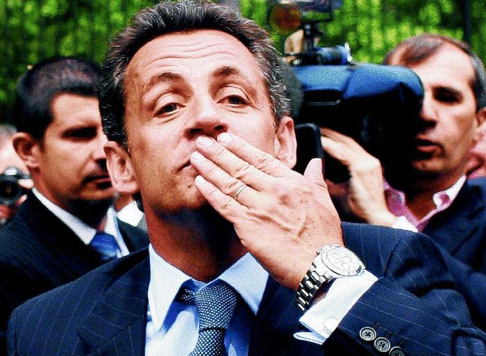 Niklios Sarkozy laikrodis