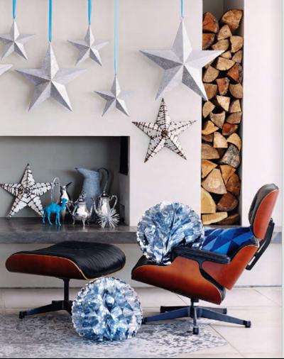 En mi espacio vital muebles recuperados y decoraci n - Decoracion navidad vintage ...