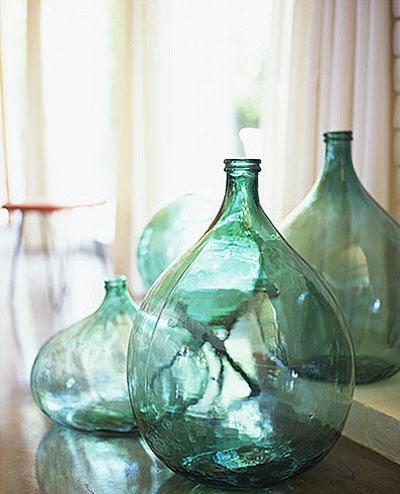 En mi espacio vital muebles recuperados y decoraci n for Botellas de cristal ikea