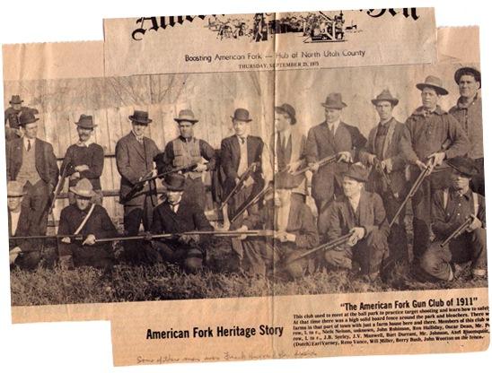 American Fork Gun Club 1911