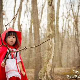 little red riding hood by Phooiyoon Lay - Babies & Children Child Portraits