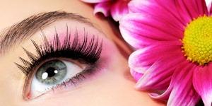 Beauty pink make-up