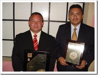 Andres Novelo y Edgar Tun 2006