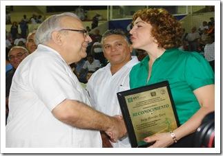 Reconocimiento Jorge Menendez 2008
