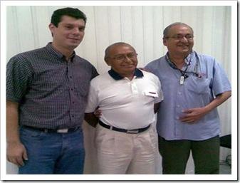 Foto Eddie Baeza, Javier Peña y Jesús Erosa 2008