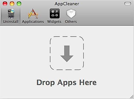 AppCleaner - Drop Apps Here