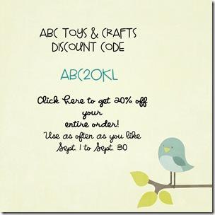 ABC Toys Discount Code 2010