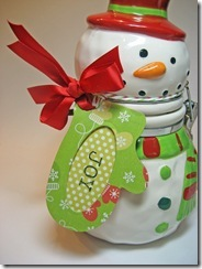 Snowman Tag 2010 Closeup