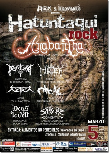 HATUNTAQUI ROCK FINAL