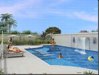 Carlos cunha 3d designer piscina 3d para folder de vendas for Piscina 3d
