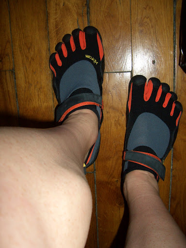 Les Vibram Five Fingers KSO