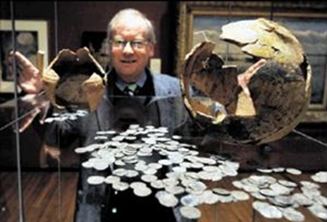 Mediaeval silver coin hoards go on display