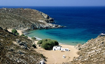 Traditional beauty: Patmos is just as stunning as other Greek islands.