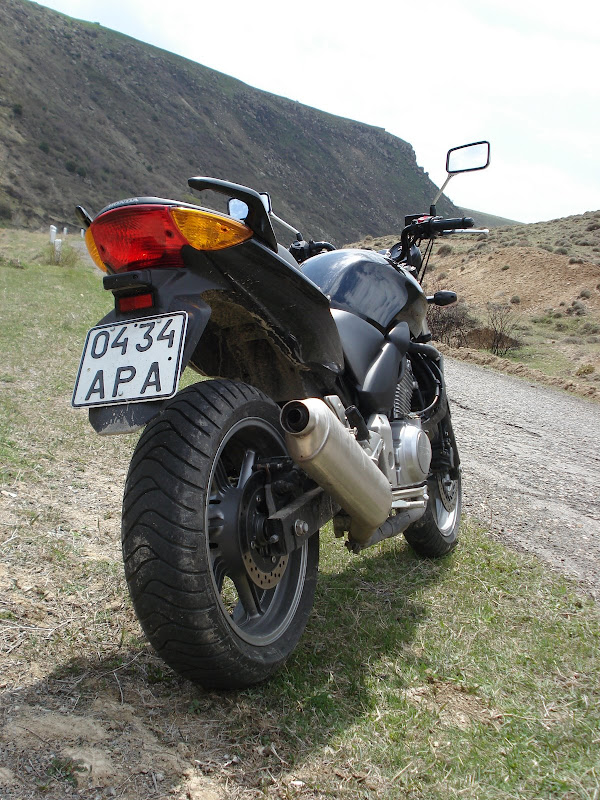 First Ride Ever, Tsakhkadzor - Bjni Section