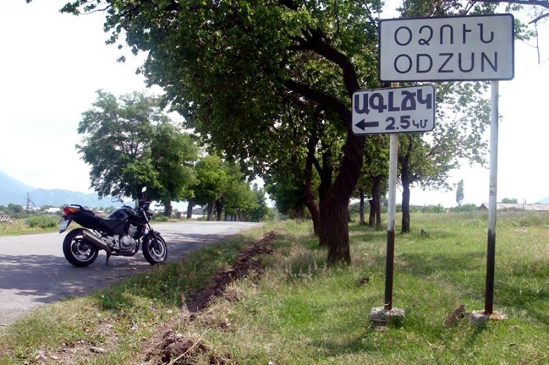 Just arrived at Odzun