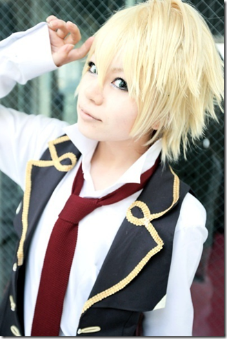pandora hearts cosplay - oz vessalius
