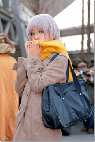 the melancholy of suzumiya haruhi cosplay - nagato yuki 04