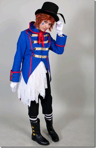 kuroshitsuji cosplay - drocell cainz 02