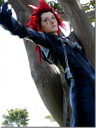 kingdom hearts: chain of memories cosplay - axel