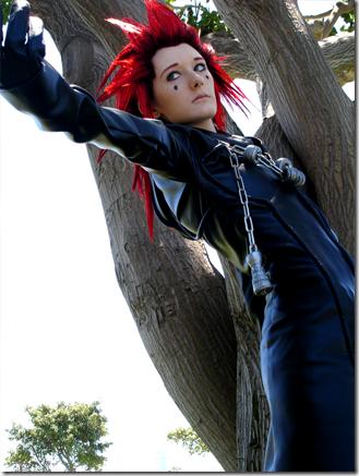 kingdom hearts: chain of memories cosplay - axel