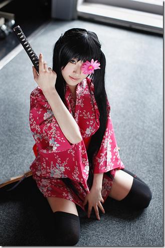 gintama cosplay - yagyu kyubei