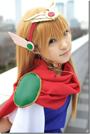 akazukin chacha cosplay - magical princess chacha