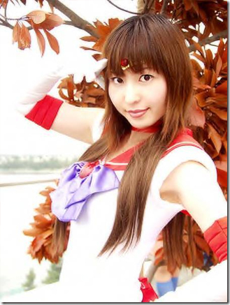 sailor moon cosplay - sailor mars / hino rei