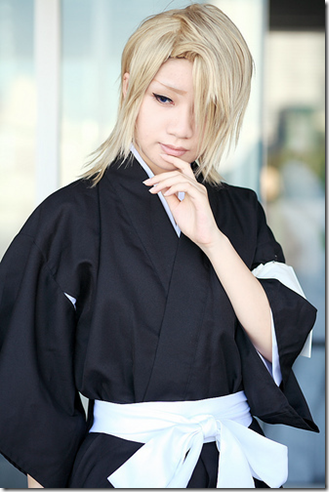 bleach cosplay - kira izuru