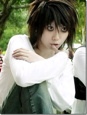 death note cosplay - ryuzaki l. lawliet