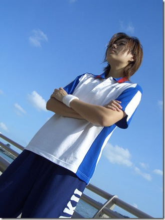 prince of tennis cosplay - tezuka kunimitsu