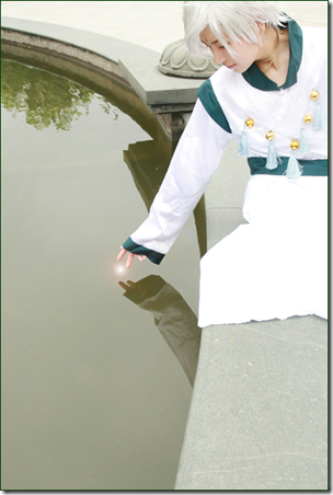 sailor moon supers cosplay - helios / pegasus